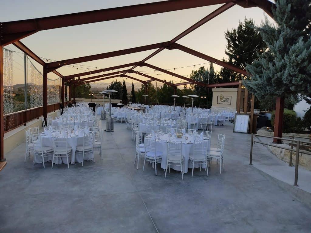 Ktima Oasis Cyprus - Weddings - Baptisms - Corporate Events - OasisIndoor2 scaled 1