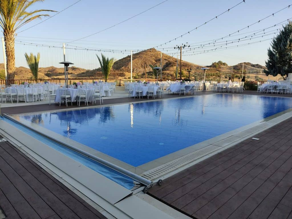Ktima Oasis Cyprus - Weddings - Baptisms - Corporate Events - PoolOutdoor scaled 1