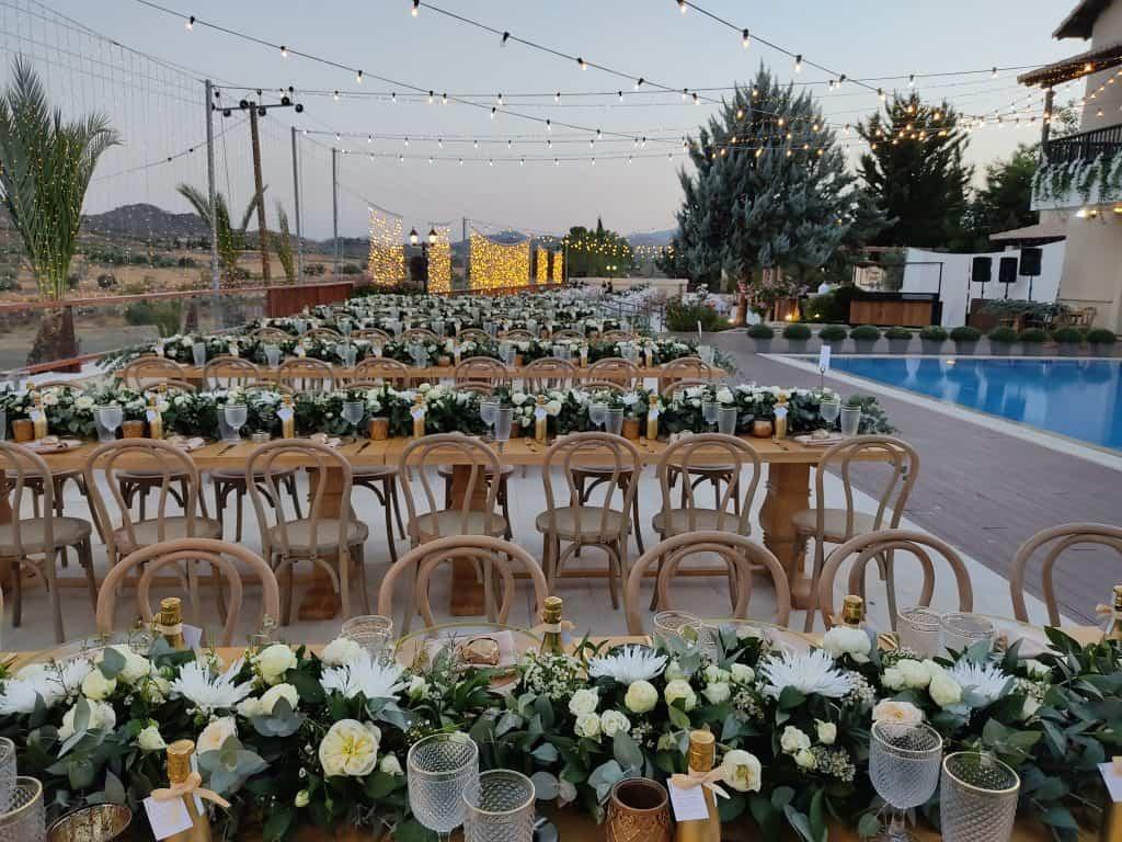 Ktima Oasis Cyprus - Weddings - Baptisms - Corporate Events - PoolOutdoor2 3