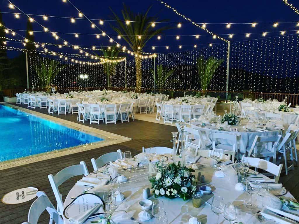 Ktima Oasis Cyprus - Weddings - Baptisms - Corporate Events - setup 3