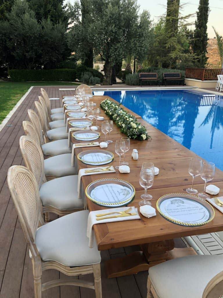 Ktima Oasis Cyprus - Weddings - Baptisms - Corporate Events - wedding 2